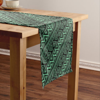 Boho ZigZag Short Table Runner