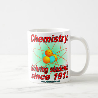 Bohr atom, Bohring students Coffee Mug