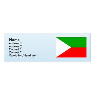 Bohunov , Czech Business Card Template