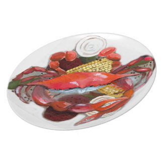 Boiled Crabs Plate