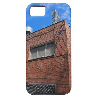 Boiler house with a gas pipe case for the iPhone 5