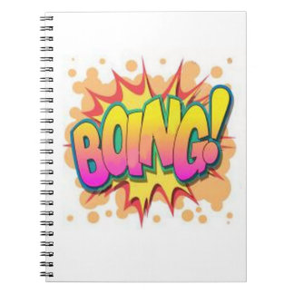 Boing! Spiral Note Book
