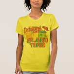 Boire le temps d'île t-shirt