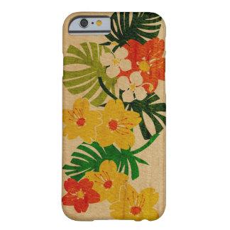 Bois hawaïen de Faux de jardin de Limahuli Coque Barely There iPhone 6