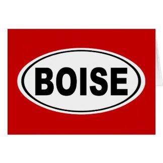 Boise Idaho Card