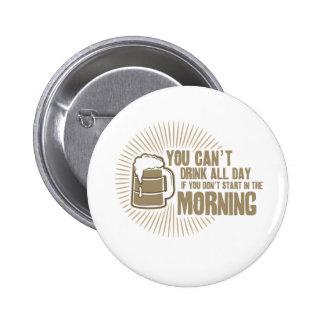 boisson biseautée toute la journée si vous ne comm badge avec épingle