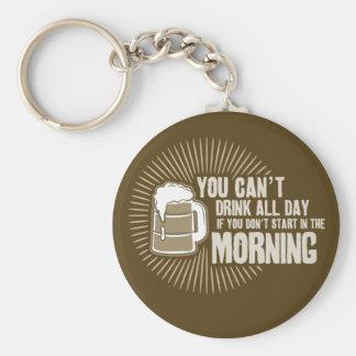 boisson biseautée toute la journée si vous ne comm porte-clés