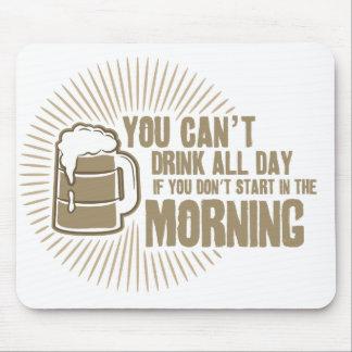 boisson biseautée toute la journée si vous ne comm tapis de souris