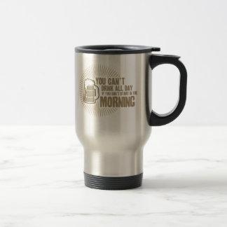 boisson biseautée toute la journée si vous ne comm tasses