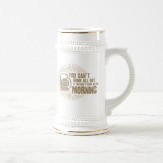boisson biseautée toute la journée si vous ne comm tasse