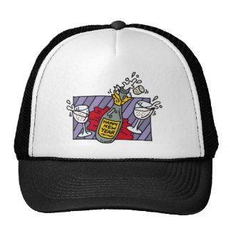 Boissons de partie de nouvelle année casquettes de camionneur