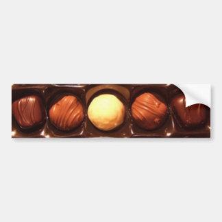 Boîte d'adhésif pour pare-chocs de chocolats autocollant de voiture
