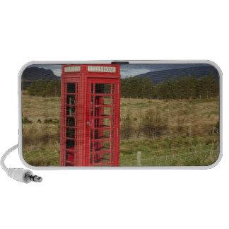 Boîte de téléphone public, Ellishadder, près de St Haut-parleur Ordinateur Portable
