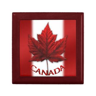 Boîte du Canada de bijoux de cadeau de souvenir du Boîte À Babioles