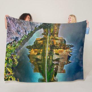 Bojnice Castle, Bojnice, Slovakia Acrylic Art Fleece Blanket