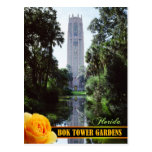 Bok Tower Gardens and Singing Tower, Florida Post Card