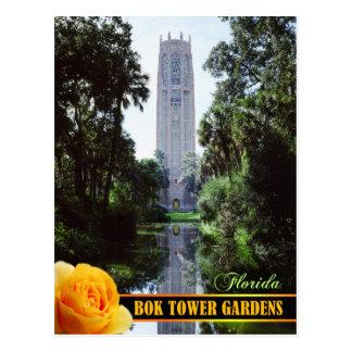 Bok Tower Gardens and Singing Tower, Florida Postcard