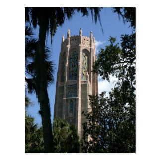 Bok Tower Gardens central Florida historic Postcard