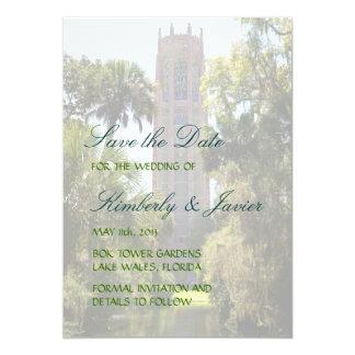 Bok Tower Wedding Card