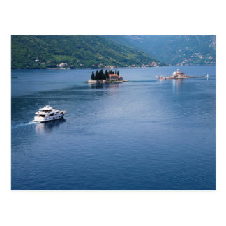 Boka Kotorska in Montenegro Postcard