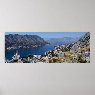 Boka kotorska Montenegro Crna Gora Poster