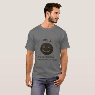 Bokara Grey Smiley Face T-Shirt