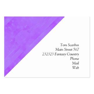 Bokeh 02 soft lilac business card