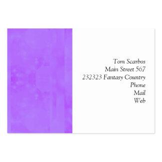 Bokeh 02 soft lilac business card templates