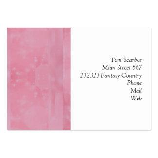 Bokeh 02 soft pink business card