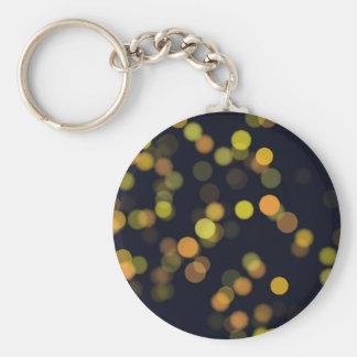 bokeh #72 basic round button keychain