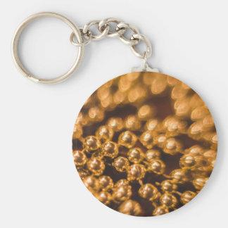 bokeh #74 basic round button keychain