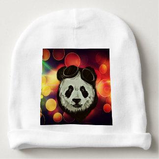 Bokeh Art with Panda Baby Beanie