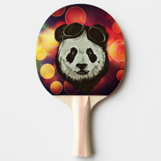 Bokeh Art with Panda Ping Pong Paddle