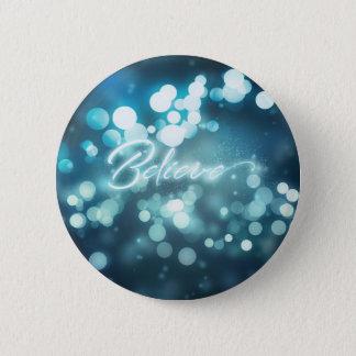Bokeh Believe 2 Inch Round Button