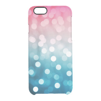 Bokeh Blush Clear iPhone 6/6S Case