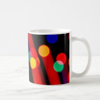 Bokeh Christmas Lights Trails Coffee Mug