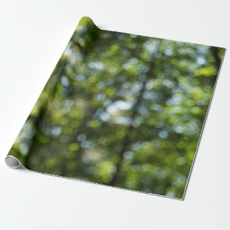 Bokeh in Spring Wrapping Paper