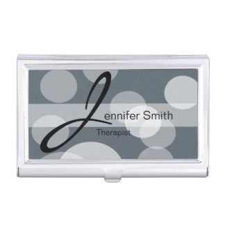 Bokeh Personalize DIY Background Color Business Card Holder
