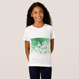 bokeh style texture. Name. T-Shirt
