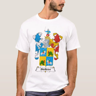 Bokor Family Hungarian Coat of Arms T-Shirt