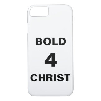 """Bold4Christ"" Apple iPhone 8/7 Case"