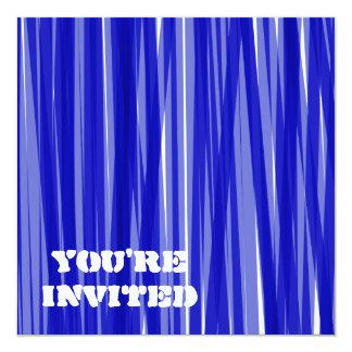 """Bold 5.25"""" Square Invitation Card"""