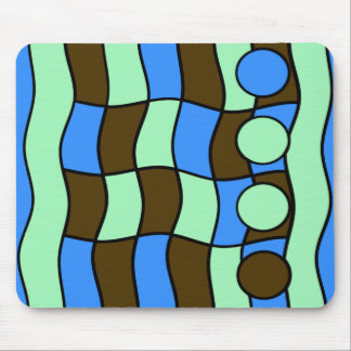 BOLD ABSTRACT MOUSEPAD