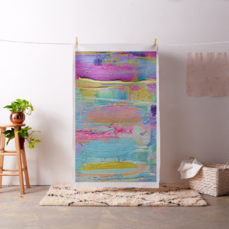 Bold Abstract Painting Fabric