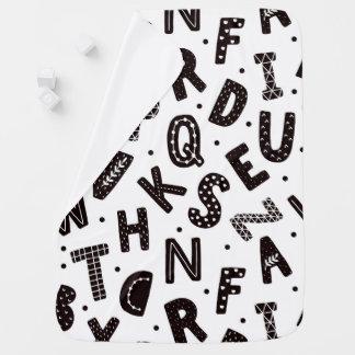 Bold Alphabet Baby Blanket
