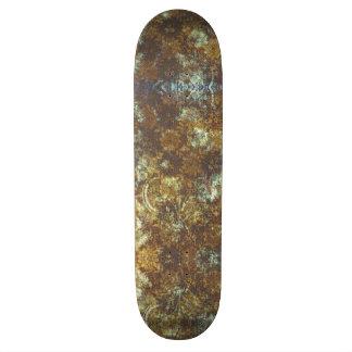 Bold and Blue Grunge Skate Board Decks