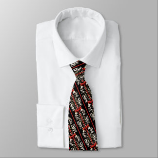 Bold and bright holiday tie