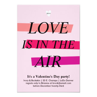 Bold and Bright Valentine's Day Party Invitation