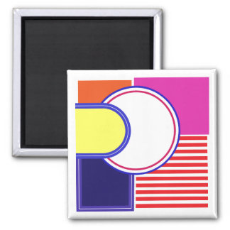 Bold and loud colors. magnet