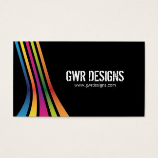Bold and Modern Business Cards